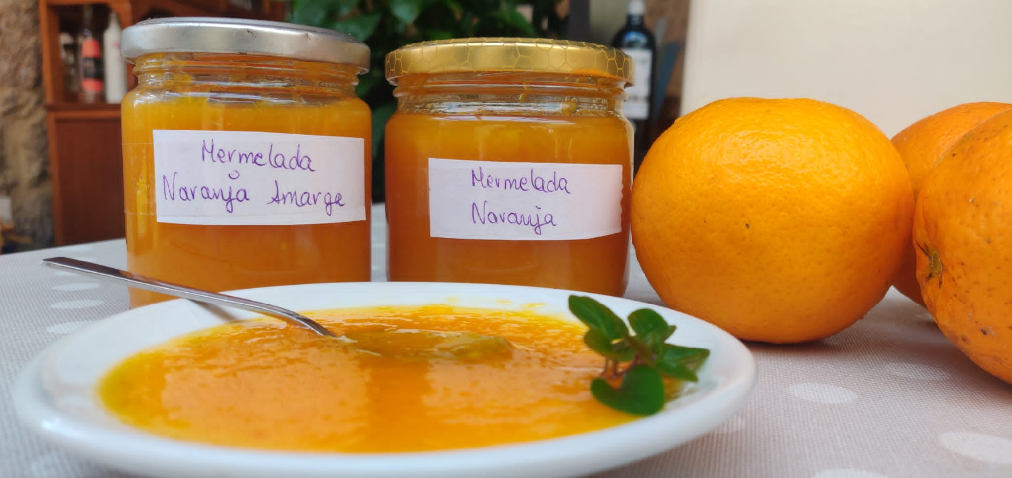 mermelada naranja